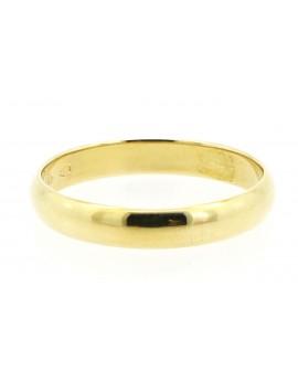 Obrączka złota baryłka 3.050g. 585