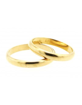 Obrączki złote 3.3mm. 6.600g.585
