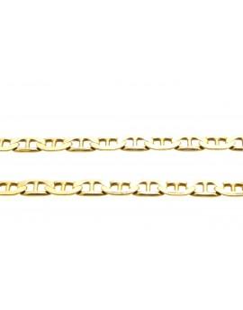 łańcuszek złoty 8.350g. 585 50cm.