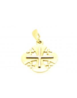 krzyżyk złoty jerozolimski 2.500gr. 750