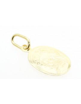 medalik złoty  masa 0.400g. 585