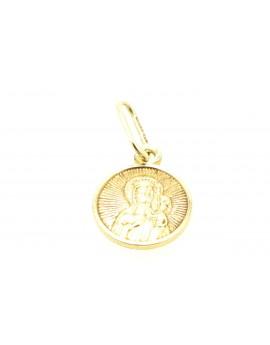 medalik złoty  masa 0.750g. 585