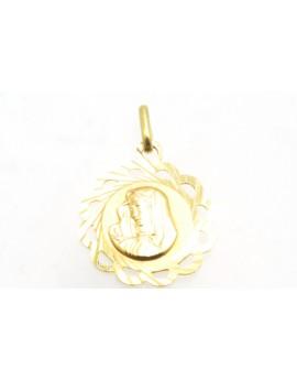 medalik z żółtego złota 1.950g. 585