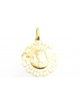 medalik z żółtego złota 1.850g. 585