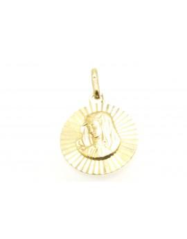medalik z żółtego złota  masa 1.500gr. 585