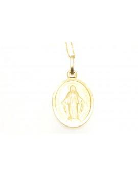 medalik złoty szkaplerz masa 2.600g. 585