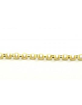 Bransoletka złota ROLO 3.250g. 585