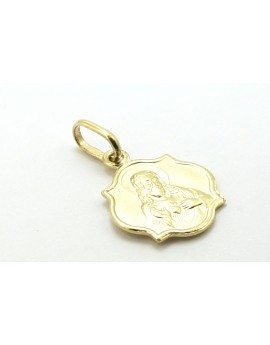 medalik złoty serce Pana Jezusa 1.100g. 585