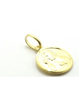 medalik złoty serce Pana Jezusa 0.900g. 585