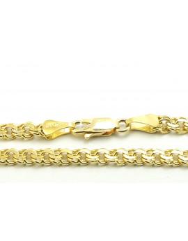 łańcuszek złoty Galibardka 17.150g. 585 45cm.