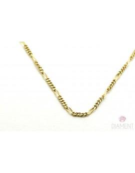 łańcuszek złoty Cartier masa 2.300g. 750 42cm.