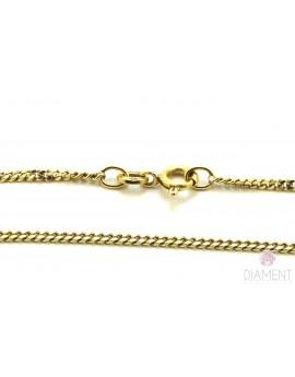 łańcuszek złoty pancerka masa 5.950g. 750 50cm.