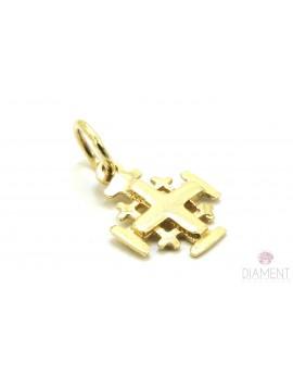 krzyżyk złoty Jerozolimski 0.650g. 585