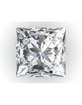 Diament princess 4.0x4.0mm.masa 0.37ct.H/VS-bd/bd z certyfikatem