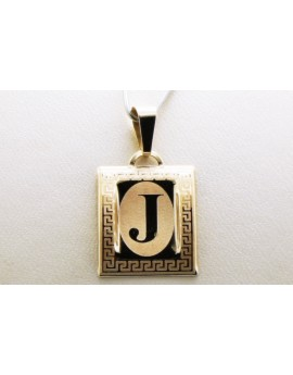 złoty wisiorek literka J masa 0.750g. 333