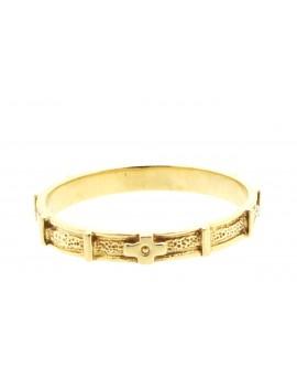 Różaniec na palec złoty 2.200g. 585