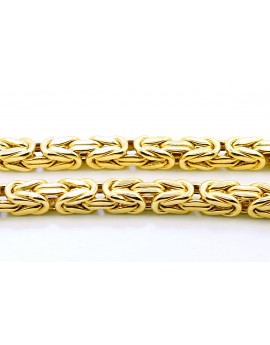 łańcuszek złoty Królewski masa 32,900gr. 585 60cm.