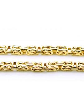 łańcuszek złoty Królewski masa 16.000gr. 585 60cm.