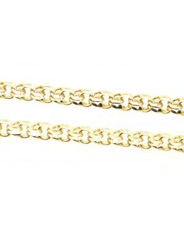 łańcuszek złoty galibardka masa 14.400g. .585 47cm.