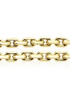 łańcuszek złoty ankrowy kuty masa 30.400g. 585 60cm.
