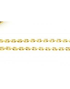 łańcuszek złoty ankrowy kuty masa 15.400gr. 585 55cm.