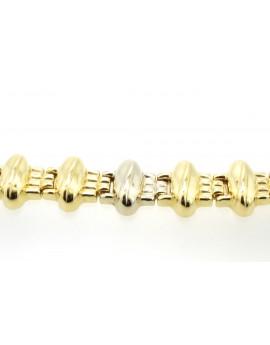bransoletka złota masa 24.950g.750 19cm.
