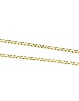 łańcuszek złoty PANCERKA masa 5.780g. 750 65cm.