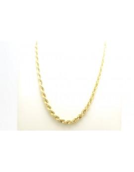 łańcuszek złoty 2.630g. 585 44cm.