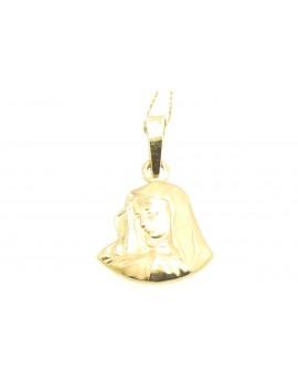 medalik z żółtego złota  masa 1.700gr. 585