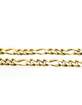 łańcuszek złoty CARTIER masa 60.500g. 585 58cm.