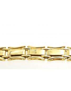 bransoletka z żółtego złota zegarkowa 24.900gr. 585 21.5cm.